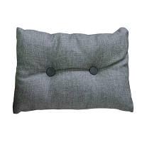 Подушка декоративная TWIST Серая 25*35 см