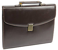 Портфель деловой из искусственной кожи 4U Cavaldi B-195 коричневый