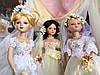 Свадебные куклы, фарфоровые куклы-невесты
