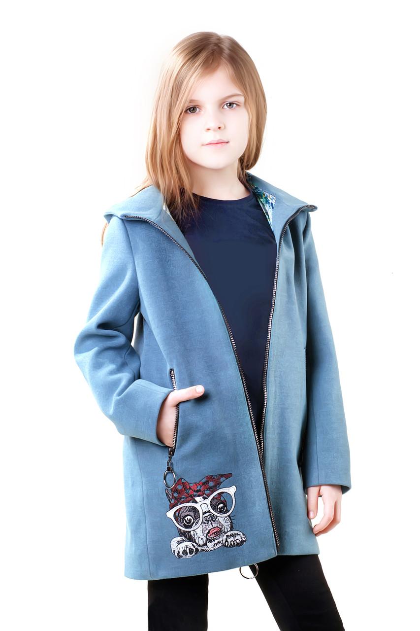 Детское пальто для девочки Капа