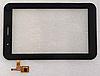 Оригинальный тачскрин /сенсор (сенсорное стекло) IconBIT NetTAB Matrix 3G Duo | 3GT NT-3703M черный самоклейка
