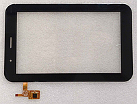 Оригинальный тачскрин /сенсор (сенсорное стекло) IconBIT NetTAB Matrix 3G Duo | 3GT NT-3703M черный самоклейка, фото 1
