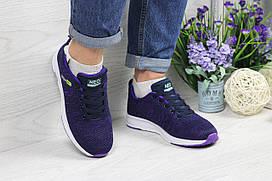 Кроссовки женские фиолетовые  Adidas Neo 4845
