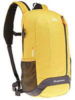 Рюкзак на каждый день практичный городской 20 л. Quechua ARPENAZ 626954 желтый