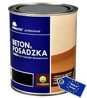 Чёрная краска для бетонного пола Primacol  0.75л