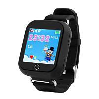 Детские умные GPS часы Q100s Black (SBWQ100BL)