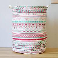 Корзина для белья и игрушек на завязках Pattern, фото 1