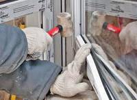 Установка оконных блоков из металлопластика