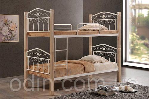 Двухъярусная кровать Миранда крем (Domini)