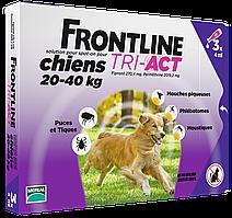 Merial FrontLine Tri-Act - капли против блох и клещей для собак от 20 до 40кг ( 1 пипетка )