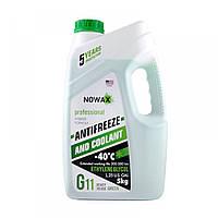 Антифриз NOWAX G11 зеленый готовая жидкость 5 кг (NX05003)