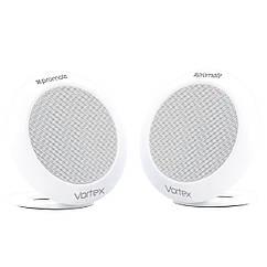 Bluetooth колонка Promate Vortex White