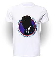 Футболка  мужская размер L GeekLand Агенты Щит Agents of S.H.I.E.L.D. силуэт Коулсона art AS.01.014
