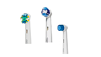 Насадки для зубной щетки ORAL-B 3 шт. (Sensitive, Precision Clean, Floss Action)