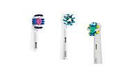 Насадки для зубной щетки ORAL-B 3 шт. (3D-White, Cross Action , Floss Action)