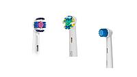 Насадки для зубной щетки ORAL-B 3 шт. (3D-White, Floss Action , Sensitive)