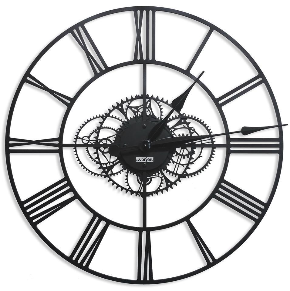 "Интерьерные Металлические Часы,""Madrid"", Диаметр-60см"