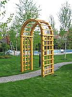 Деревянная арка садовая Эдем 4