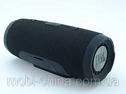 JBL Charge 3+ E3+ Bluetooth колонка 20W с FM MP3, реплика, черная, фото 2