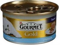 Gourmet Gold (Гурмет Голд) Консерва паштет для кошек с тунцом, 85 г