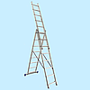 Универсальная лестница WERK LZ3208B (3х8) (5,10 м)