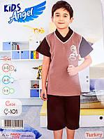Детский комплект футболка+шорты для мальчика Турция. Kids Angel C-101. Размер 9-11 лет.