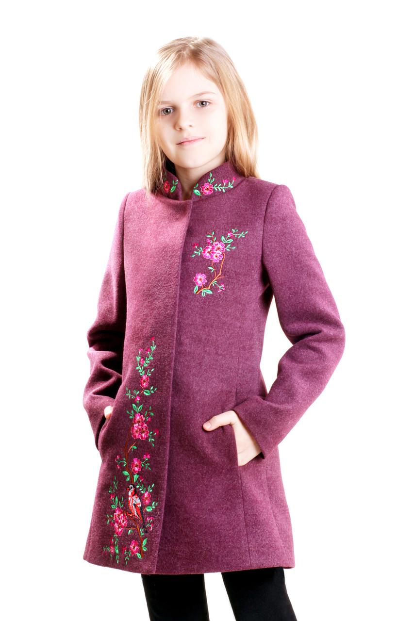 Детское пальто для девочки Натали