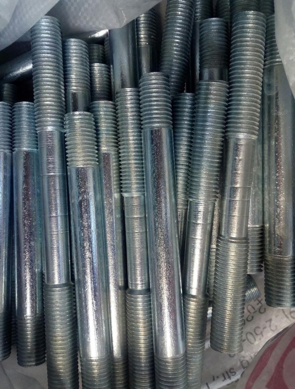 Шпилька М10 ГОСТ 22040-76, ГОСТ 22041-76, DIN 940 с ввинчиваемым концом длиной 2,5d