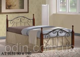 Кровать АТ 9151 90х190 см