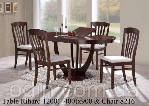 Стол Рихард (Rihard) орех 120х90 см