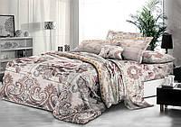 Комплект постельного белья семейный, полиэстер. Постільна білизна. (арт.9504)