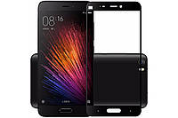 Защитное стекло на телефон Xiaomi Mi5 3D черный