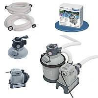 Песочный фильтр насос Intex 28644 производительность 4500 л/ч