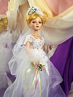 Кукла невеста Летиция (40 см.) фарфоровая