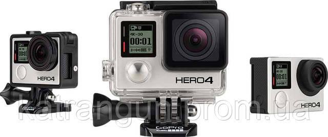 Предзаказ на новую экшен камеру GoPro Hero 4