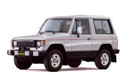 Mitsubishi Pajero / Митсубиси Паджеро (Внедорожник) (1982-1990)