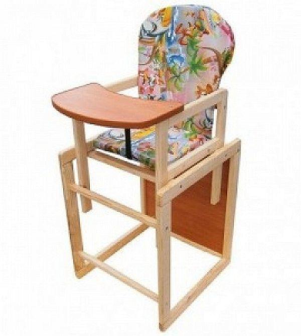 детский деревянный стульчик стул для кормления цена 375 грн