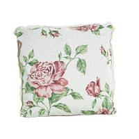 Подушка декоративная Large pink rose 40*40 см