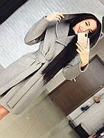 Женское пальто Глория серый