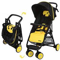 Детская прогулочная коляска-книжка EL CAMINO MOTION M 3295-6 желтая