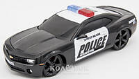 Игровая Автомодель Maisto Chevrolet Camaro SS RS Police свет. и звук, М1:24 Игровая Автомодель Maisto Chevrolet Camaro SS RS Police чёрный свет. и