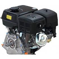 Двигатель бензиновый Loncin G270F (9 л.с., вал 25 мм, шпонка), фото 3