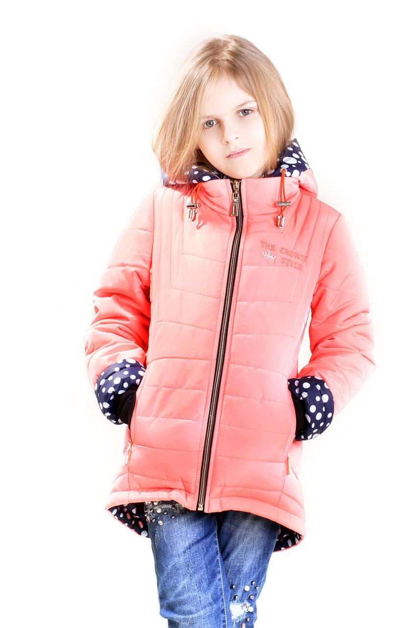 Детская курточка для девочки  Корона