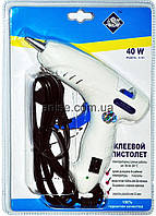 Пистолет клеевой, термопистолет для рукоделия под стержни 7 мм, 40 W