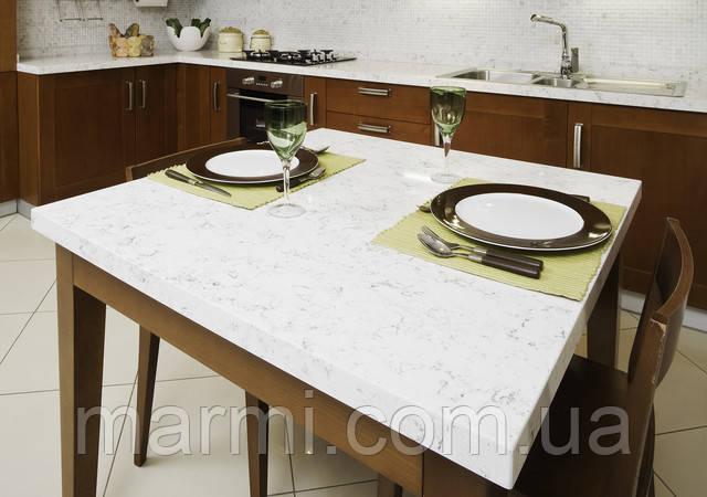 столешница Кварцевый искусственный камень Fairy White 4227