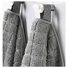ОФЬЕРДЕН Полотенце, серый, 30x50 см, 90295804 IKEA, ИКЕА, ÅFJÄRDEN, фото 2