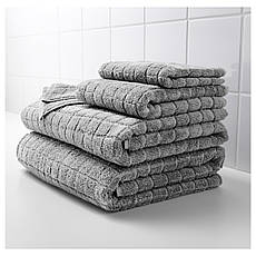 ОФЬЕРДЕН Полотенце, серый, 30x50 см, 90295804 IKEA, ИКЕА, ÅFJÄRDEN, фото 3