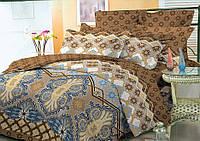 Комплект постельного белья семейный, полиэстер. Постільна білизна. (арт.9508)