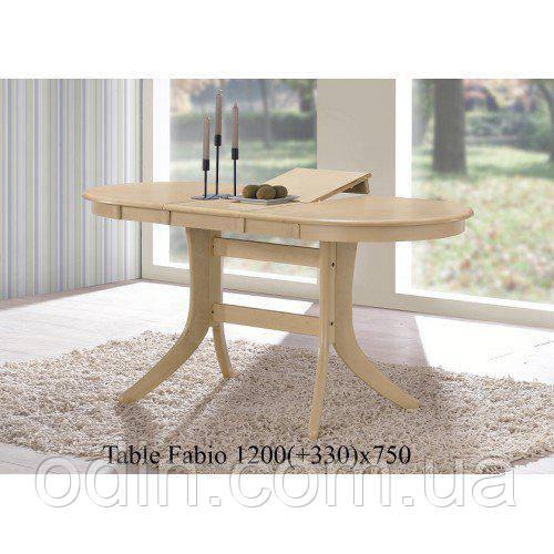Стол Фабио античный беж (Fabio) 120х75 см