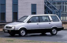 Mitsubishi Space Wagon / Митсубиси Спейс Вагон (Минивен) (1983-1991)